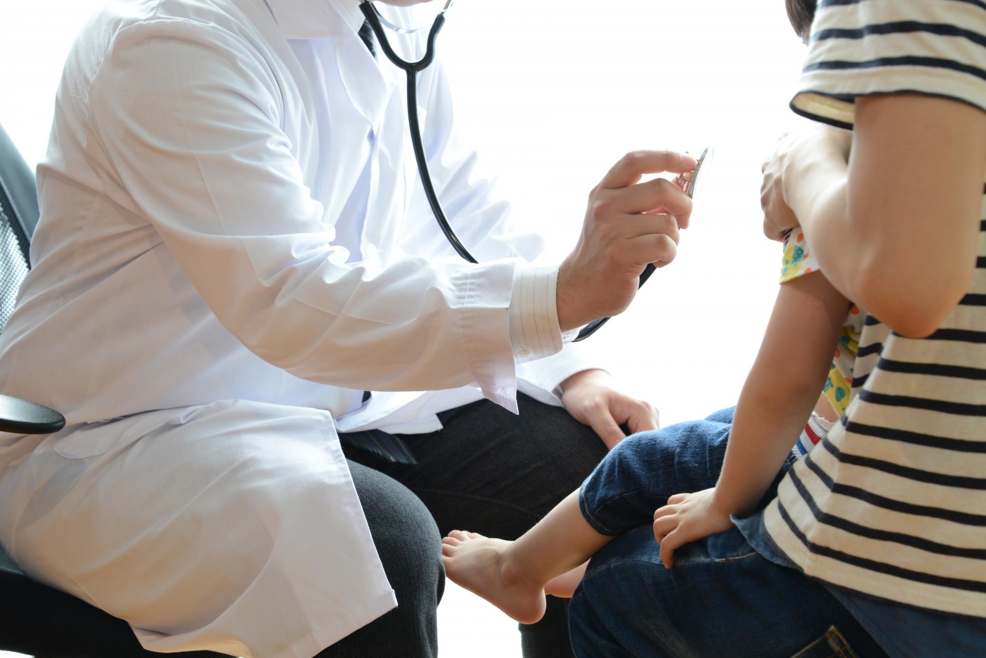 小児科の診察イメージ