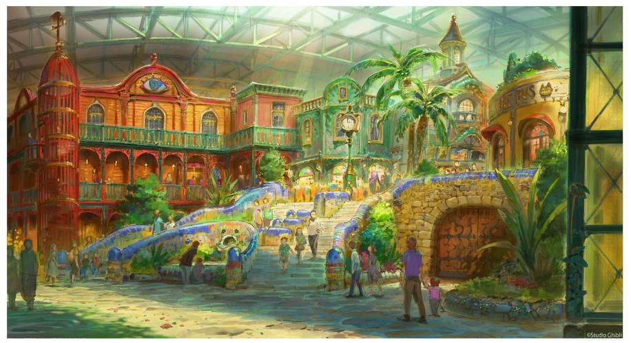 2022年怪魚予定のジブリパーク「ジブリの大倉庫」エリアデザイン
