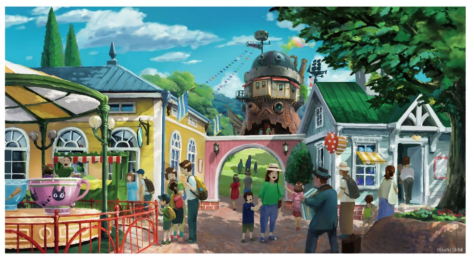 ジブリパーク「魔女の谷」エリアは2023年開業予定